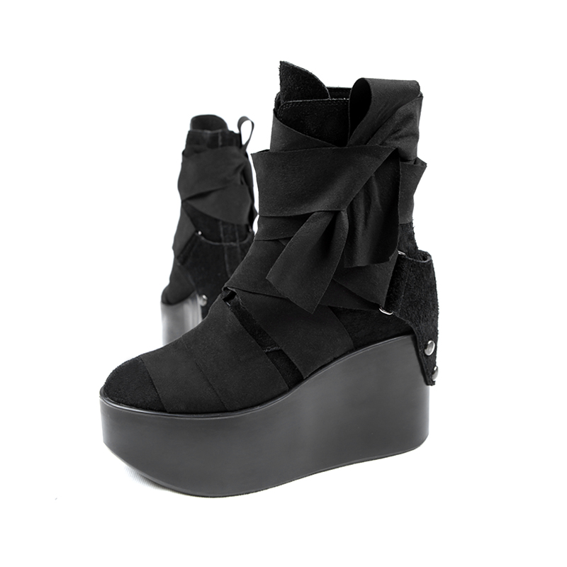 0d1081de6598 PUNK RAVE original product platform shoes fashion female winter shoes-in  Ankle Boots from Shoes on Aliexpress.com