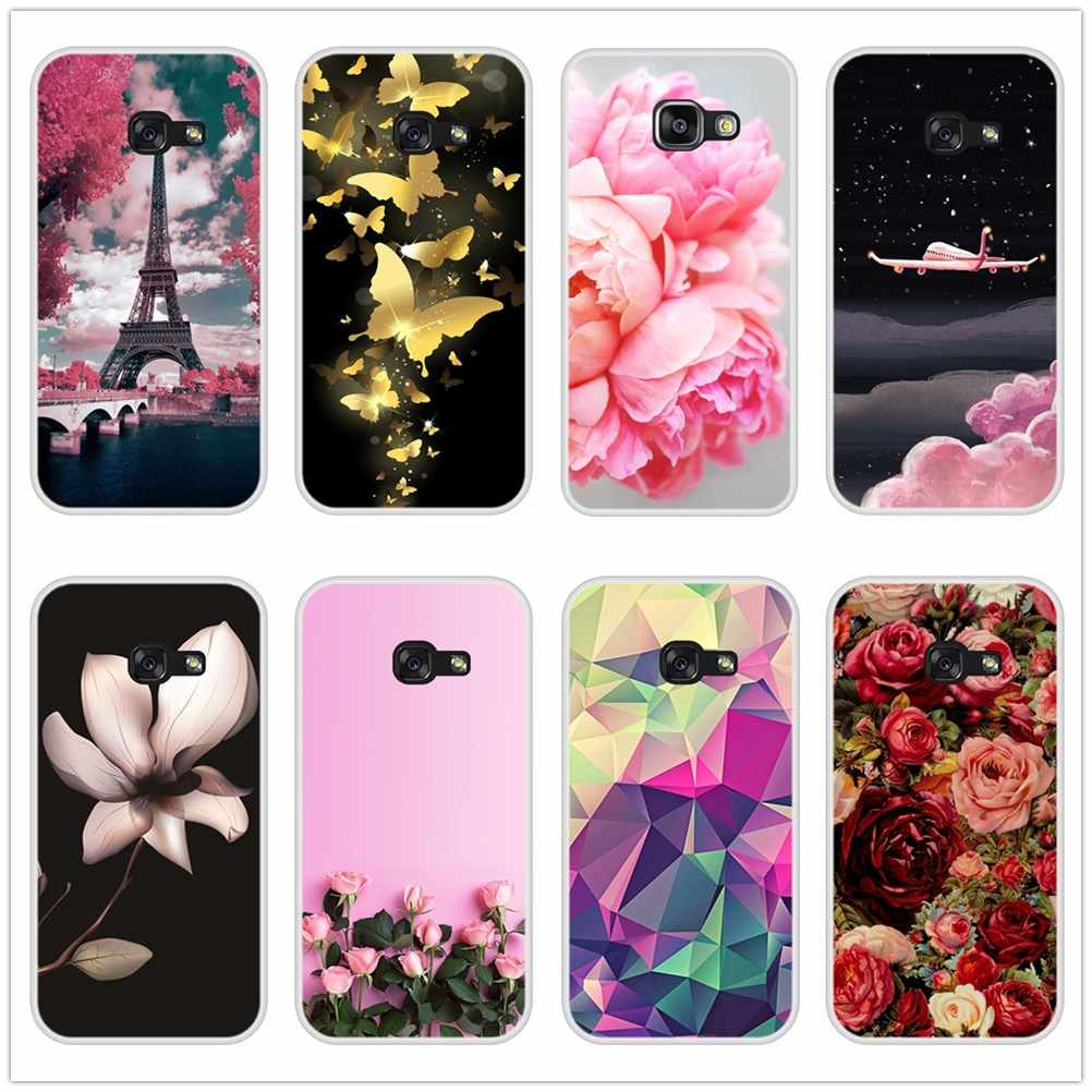 Phone Cases For Samsung Galaxy A6 A8 Plus 2018 A5 A7 Case Silicone Soft Back Cover For Samsung A5 A7 A3 2016 2017 Case