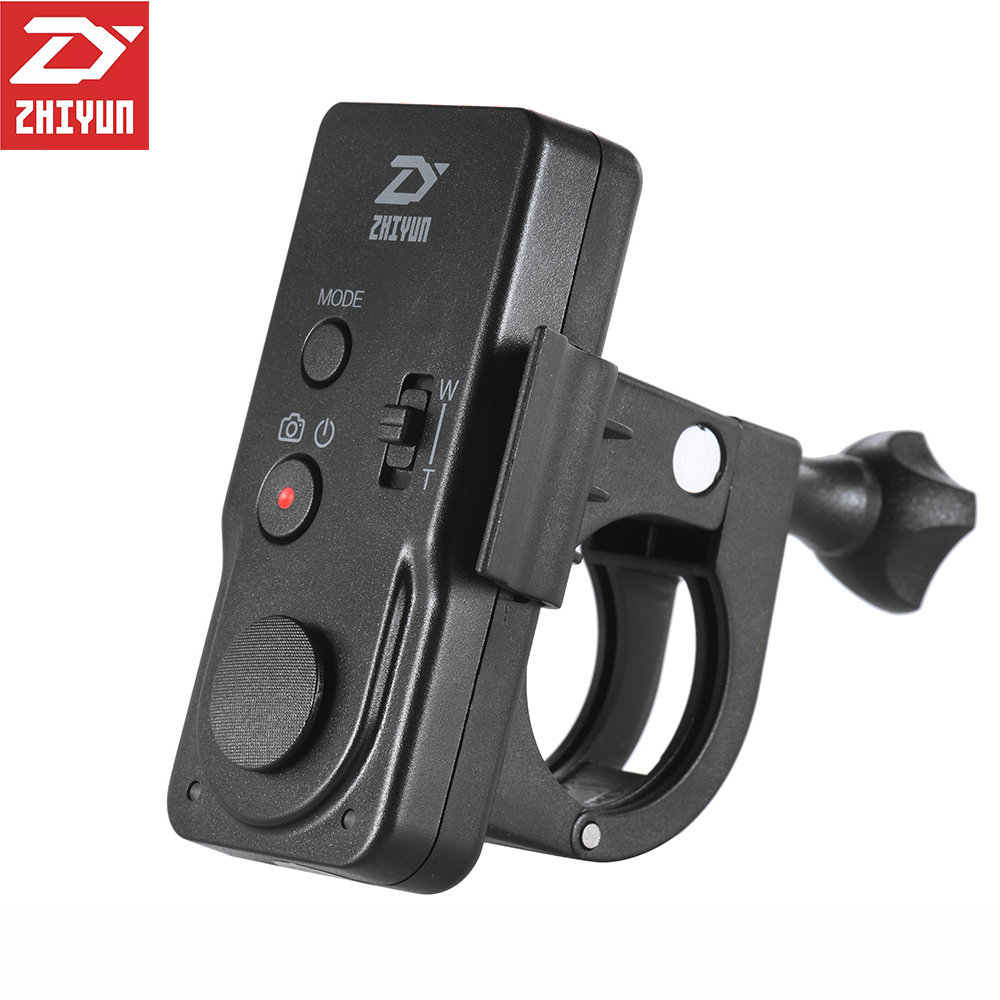 zhiyun crane 2 accessories ZW-B02 Wireless Remote Control Monitor for Crane Plus,Crane V2,Crane M Handheld Camera Stabilizer zhiyun crane v2 3 axis handheld gimbal stabilizer brushless motors for mirrorless camera with zw b02 remote dual handheld grip