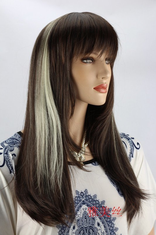 White Highlights In Black Hair Hair Color Ideas And Styles For 2018