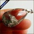 Moda Bolas de Cristal Colgante de Collar de Jade Natural Fantasma Fantasma IS870 Colares Femininos Collares De Piedra de Cuarzo Para Los Hombres de La Vendimia
