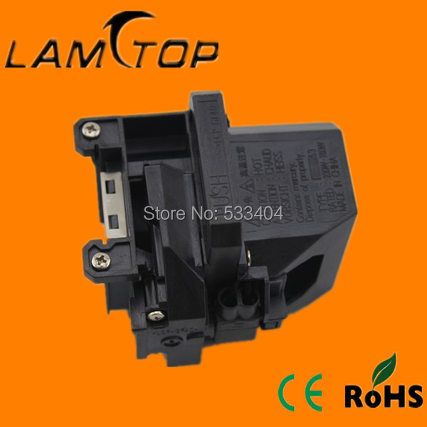 Free shipping   Excellent brighntess  LAMTOP  projector lamp  with housing/cage  for  EB-1960 free shipping lamtop projector lamp with housing cage elplp40 for emp1815