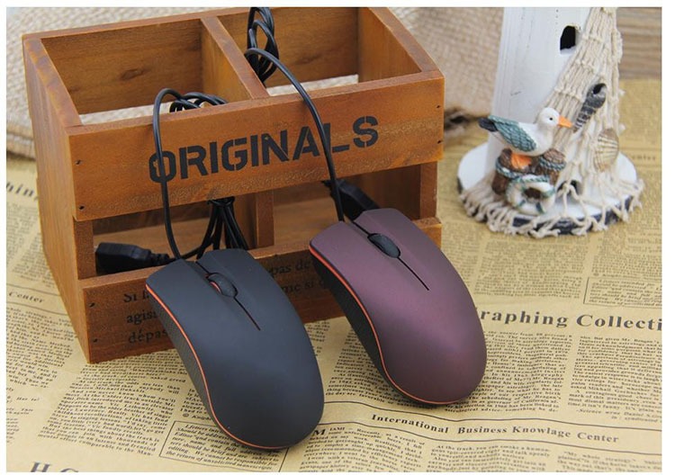 High quality lenovo m20 wired mouse usb 2 0 pro gaming mouse optical mice for computer