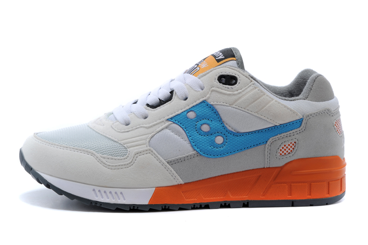 Free shipping Saucony Shadow 5000 Men's Shoes,High Quality Retro Sneakers Light Grey/Blue/Orange Saucony hiking shoes free shipping saucony shadow 5000 men s
