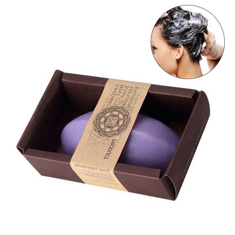 Natural Flowers Essential Oil Soap Lavender Handmade Soap Moisturizing Whitening Body Face Skin Care Bath Lavender Soap