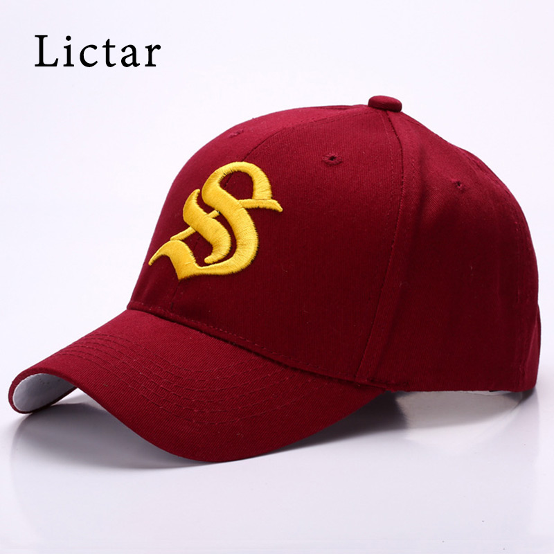 Lictar 2018 Brand New Hip Hop Letter Caps Unisex Casual Cotton Solid Soft Sun Hats for Women Men Snapback Baseball Cap Wholesale new 2017 hats for women mix color cotton unisex men winter women fashion hip hop knitted warm hat female beanies cap6a03