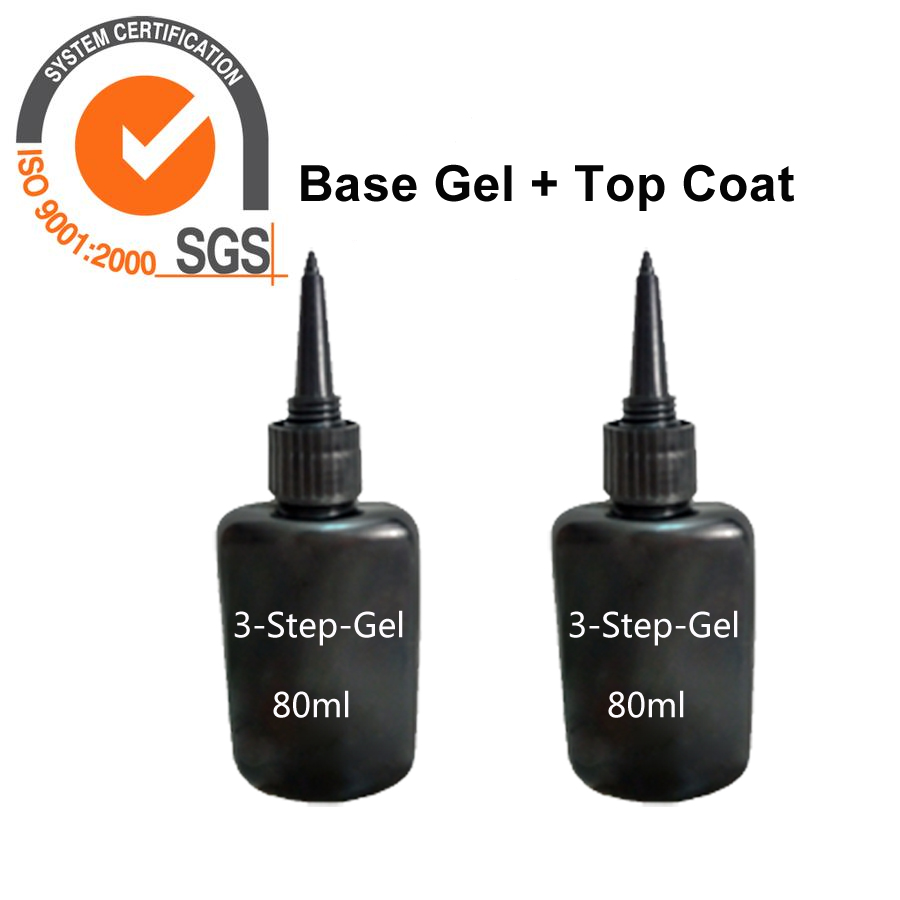New Nail Gel Polish Top Coat + Base Coat Gel Polish Long-lasting Soak Off UV Nail Gel Lacquer жидкость domix green professional nail gel polish remuver