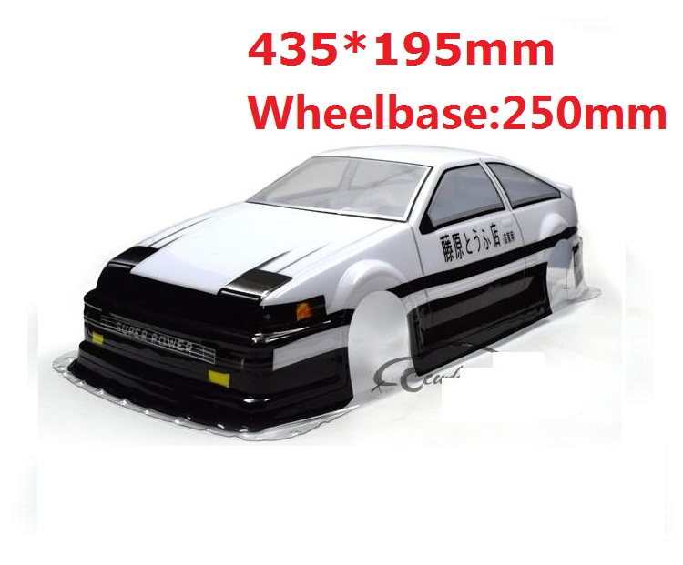 Image 2 - Ewellsold 1/10 Scale On Road Drift Car Painted PVC Body Shell 190MM for 1/10 Radio controlled car Multiple options 1pcParts & Accessories   -