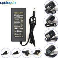 Cargador adaptador de fuente de alimentación de 100-265V CA a cc 12V 24V 1A 2A 3A 4A 5A 6A 10A, transformador LED, controlador UK AU US EU