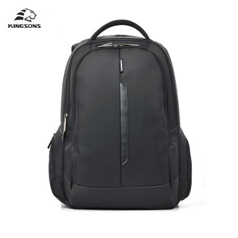 Kingsons Shockproof Laptop Backpack Nylon Waterproof Men Women Computer Notebook Bag School Bags for Boys Girls  15.6 inch unique high quality waterproof nylon 15 inch laptop backpack men women computer notebook bag 15 6 inch laptop bag