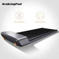 Szybka wysyłka Xiaomi Mijia inteligentny WalkingPad składane antypoślizgowe automatyczna prędkość sterowania wyświetlacz LED Fitness bieżnia do utraty wagi w Inteligentny pilot zdalnego sterowania od Elektronika użytkowa na