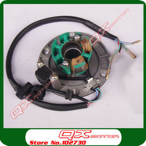 Image 3 - Original Zongshen Magneto Stator Flywheel Rotor kit For ZS150 155z 160cc Engine Dirt Pit Bike Monkey Bike parts Free shipping
