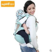 Mambobaby bébé sac à dos transporteur ergonomique écharpe porte-bébé Respirant Avant kangourou bébé sac 3-36 mois infantile wrap 2016 nouveau
