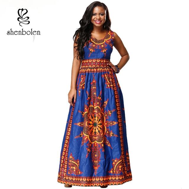 Robe africaine pour femmes mode traditionnelle dashiki coton batik robe  africaine cire imprime tissu super cire