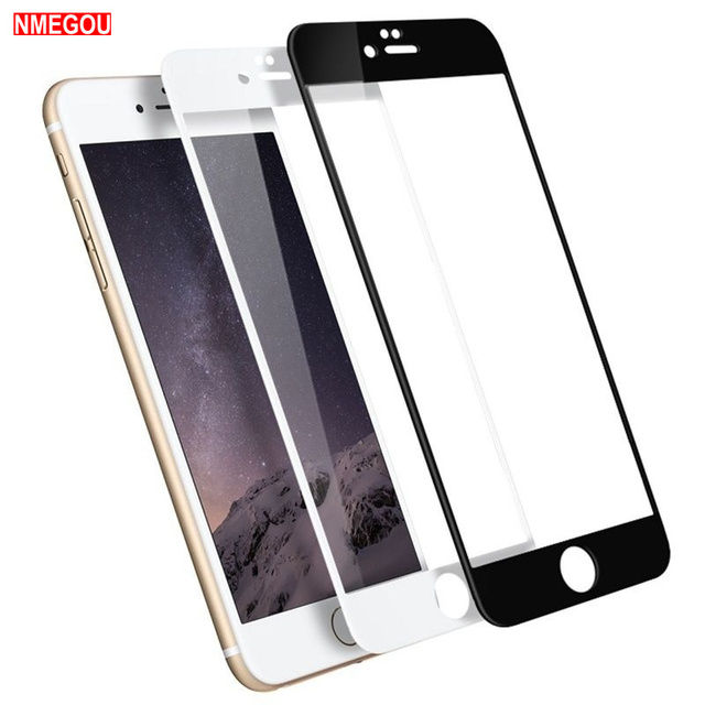 35af3b2f36e Fully Covered Tempered Glass Protection Film Screen Protector for IPhone X  XR XS Max 8 7 6 S 6s Plus Full Cover Screenprotector