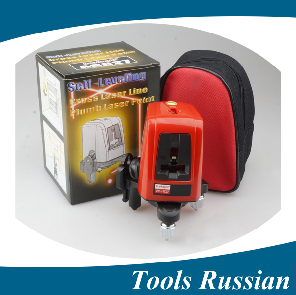 Only Russia , 3 Line 3 dots A8827D better than ak455 ,360degree Self-leveling Cross Laser Level Red HOT SALE Level Laser Tools thyssen parts leveling sensor yg 39g1k door zone switch leveling photoelectric sensors