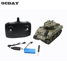 2.4G Infrared RC Battle M4 Tank Cannon & Emmagee Remote Control Tank Remote Toys for Children Boys Best Gift fz