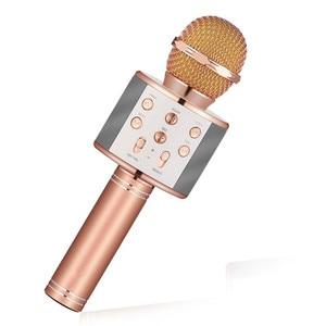 Image 5 - Bluetooth mikrofon WS858 Handheld Wireless Karaoke Microphone Phone Player MIC Speaker Record Music KTV Microfone for iPhone PC