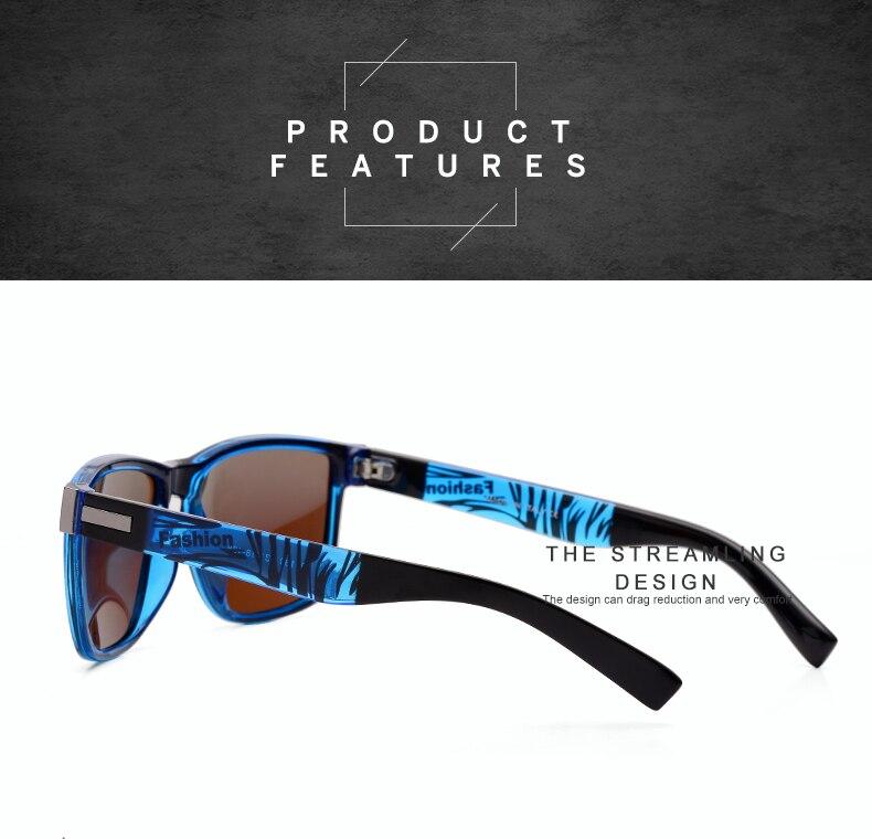 ASUOP 2019 New Men's Polarized Sunglasses UV400 Fashion Square Ladies'Glasses Classic Retro Brand Design Driving Sunglasses (11)