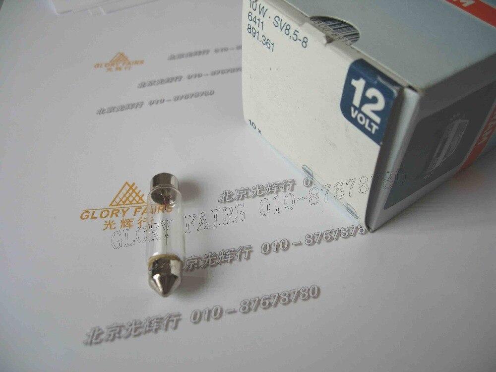 OSRAM 6411 12V 10W incandescent lamp,12V10W festoon bulb