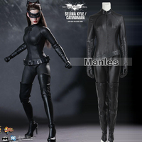 Catwoman Cosplay Costume The Dark Knight Rises Bodysuit Sexy Cosplay Batman Selina Kyle Halloween Fancy Costume For Women Adult