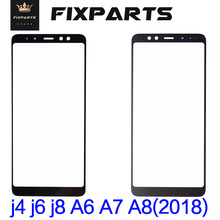 New Glass For Samsung Galaxy j4 J6 j8 Plus 2018 Touch Screen Panel A530 Touch Panel A750 Panel Digitizer A6 A7 A8 2018 phone new touch screen glass panel r8070 45b