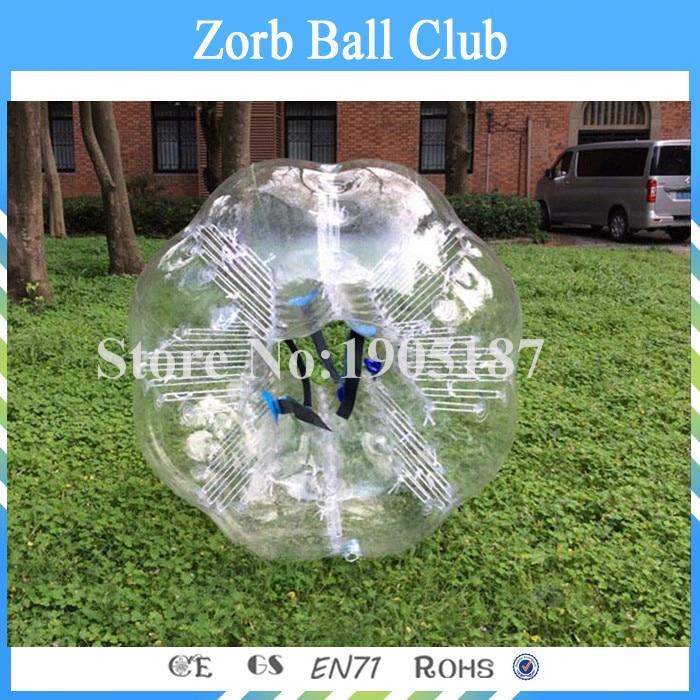 Envío gratis TPU burbuja fútbol 1.2 m rojo o azul, bola Loopy, - Deportes y aire libre - foto 3