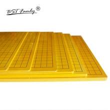 BSTFAMLY деревянные шахматы 19 дорога шахматная доска 44 см* 47 см* 0,3 см задняя китайская шахматная доска/13 дорога старая игра Go Weiqi доска GB01