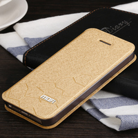 For Iphone 5 5S 5C SE Mofi Original Leather Flip Cover SE Ultra Thin Silicon Leather