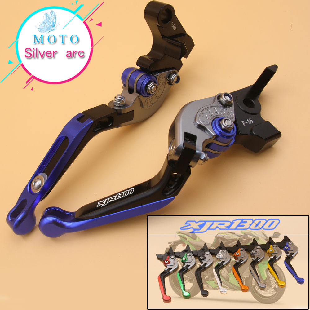 Motorcycle Adjustable Folding Extendable Brake Clutch Lever For YAMAHA XJR 1300 XJR1300 1995-2003 1996 1997 1998 1999 2000 2001 original new arrival 2017 adidas neo label w woven s pants women s pants sportswear