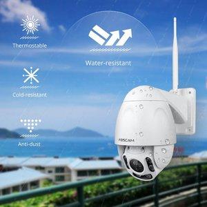 Image 5 - Foscam FI9928P açık PTZ 4x optik Zoom HD 1080P WiFi güvenlik kamerası kablosuz IP kamera ile gece görüş kadar 196ft