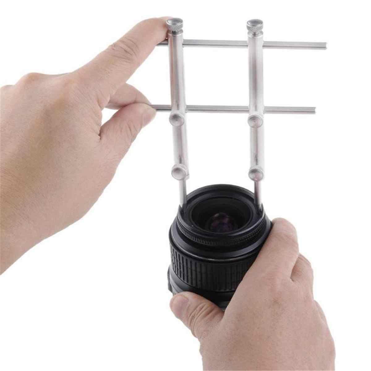 Регулируемый объектив камеры открывание ремонт гаечный ключ набор инструментов гаечный ключ 10-100 мм набор для ремонта объектива с 3 наконечниками, 6 винтовой ключ для Cano