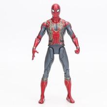 2018 17cm Marvel Toys Avengers Infinite War Spiderman PVC Action Figure Superhero Figures Spider-man Collectible Model Dolls Toy