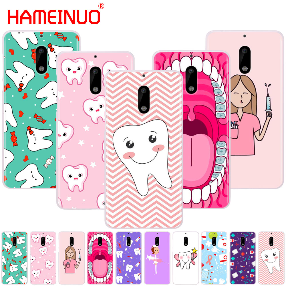 Lovely Hameinuo Nurse Doctor Dentist Stethoscope Tooth Injections Cool Cover Phone Case For Nokia 9 8 7 6 5 3 Lumia 630 640 640xl 2018 Careful Calculation And Strict Budgeting Phone Bags & Cases Half-wrapped Case