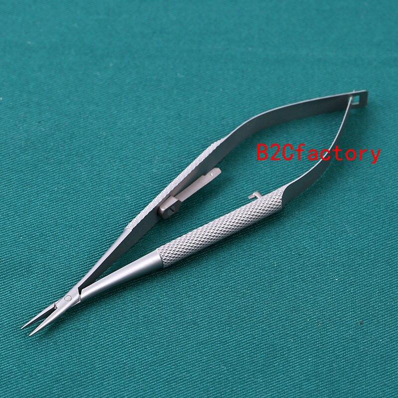 1 Pc Chirurgische Dental Kieferorthopädische Implantat Castroviejo Nadelhalter Werkzeug GläNzende OberfläChe