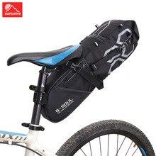 Bicycle bag saddle tail seat pack Waterproof Storage Bags Cycling backseat rear sack 10L Bike accessories Bikes suspend
