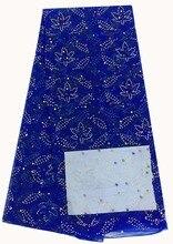 Afrikanische tüll stoff mit perlen heißer verkauf, gut aussehende African tüll stoff für abendkleid NX758-7
