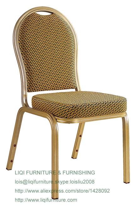 где купить wholesale quality strong modern aluminum stacking hotel event chairs LQ-L214 по лучшей цене