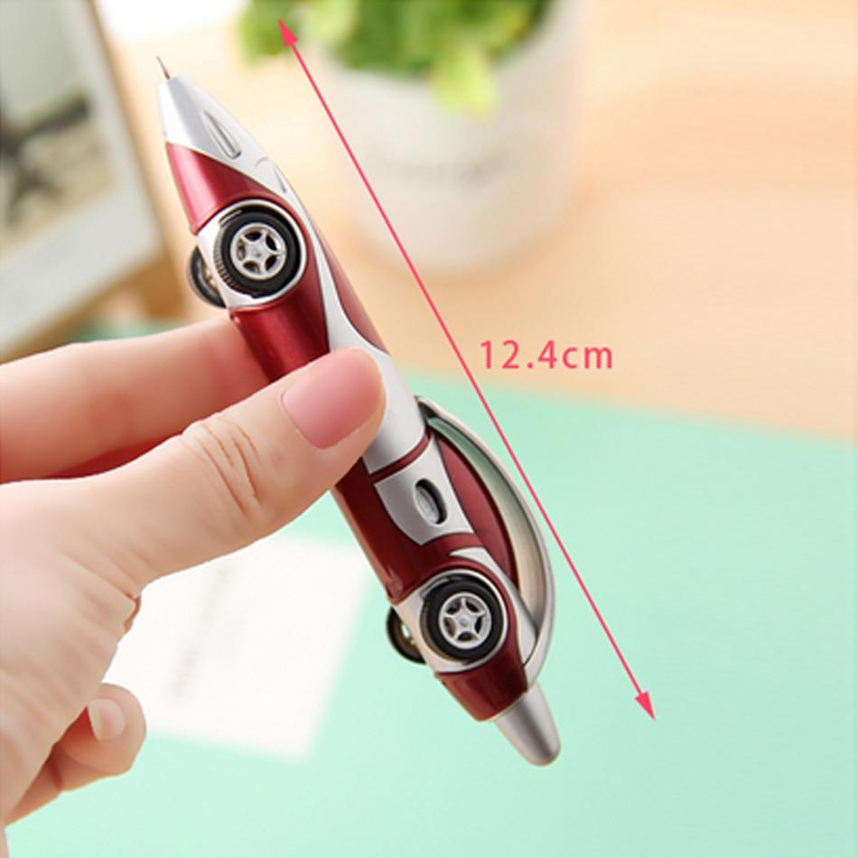 New Cute Kawaii Plastic Car Ballpoint Pen Novelty Ball Pen Creative Items Products Gift Korean Stationery Free shipping