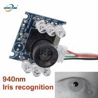 HQCAM 720P CCTV Surveillance Qr code camera USB module Camera mini infrared Night Vision USB Webcam hd IR 6pcs 940nm led Board