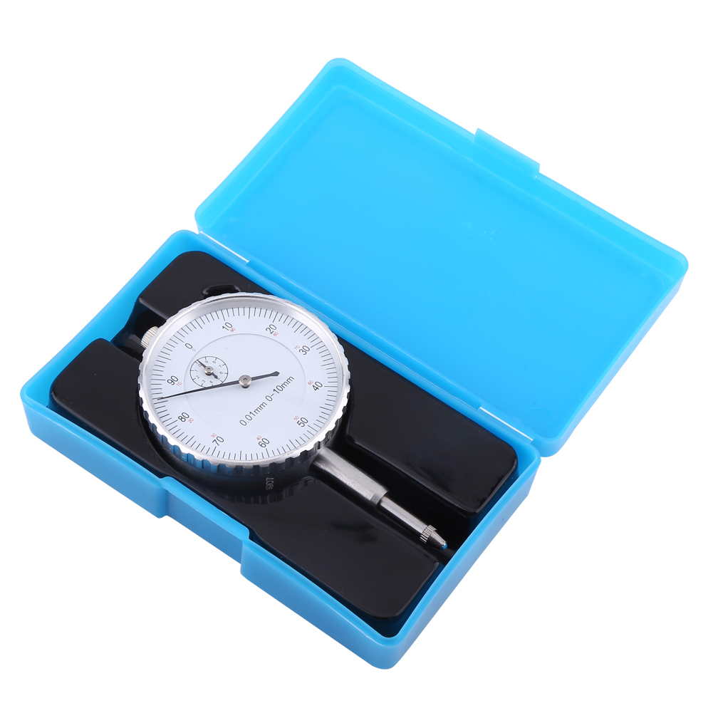 0.01mm Accuracy Dial Indicator Measuring Instrument Dial Indicator Gauge High Precision Concentricity Test Meter Gauging Tools