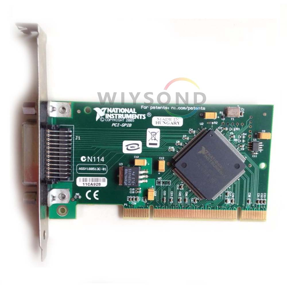 U010 (Used but tested in good condition) National Instruments NI PCI-GPIB IEEE 488.2 Network card 188513 - 01 FREE SHIPPING