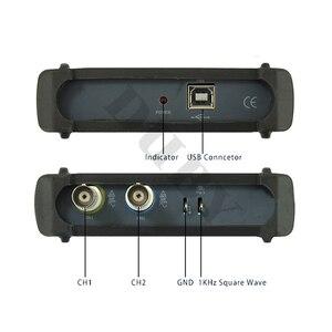Image 4 - Mdso isds205a nova atualização 3 em 1 multifuncional 20m usb osciloscópio digital virtual + analisador de espectro gravador dados