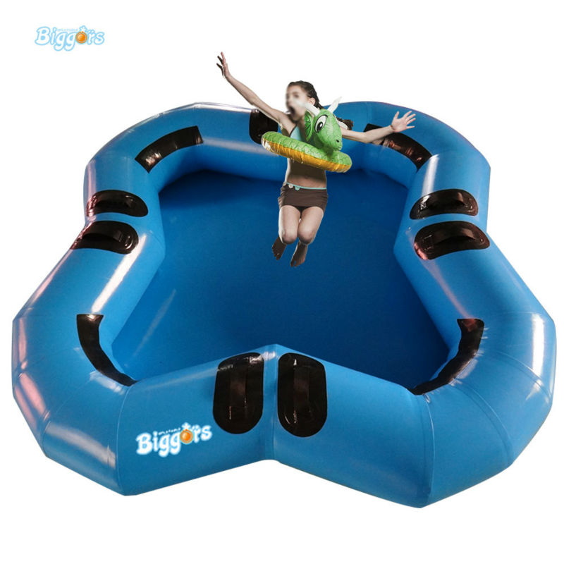 Inflatable Biggors Indoor Inflatable Swimming Pool With EN71 Certification For Children Party inflatable biggors combo slide and pool outdoor inflatable pool slide for kids playing