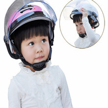 High quality kids motorcycle helmet child girl boy warm security white blue red fit for 3-8year old free shipping
