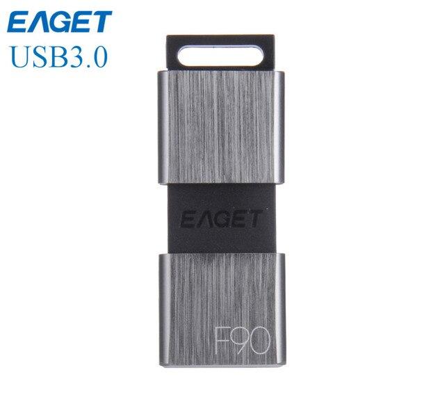 EAGET F90 usb 3.0 Pen Drive 16 ГБ 32 ГБ 64 ГБ mini USB флэш-Накопитель 128 Г мини Pendrive memory stick usb key миньоны usb3.0 горячий