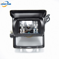 HQCAM CCD 480TVL IR Nightvision Waterproof Car parking Rear View Camera Cmos Bus Truck Camera For Bus mini camera cctv