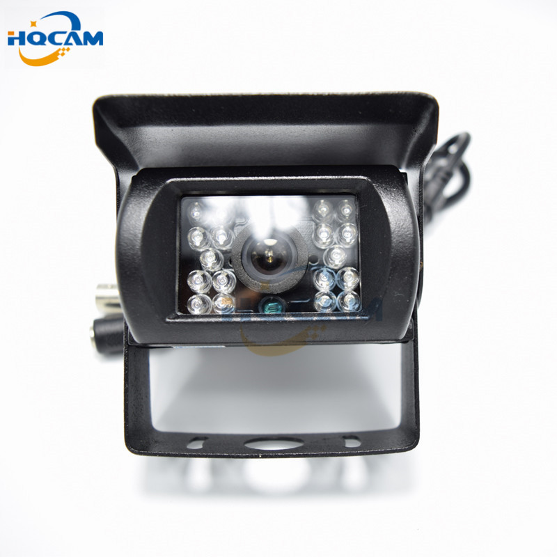 HQCAM CCD 480TVL IR Nightvision Waterproof Car parking Rear View Camera Cmos Bus Truck Camera For Bus mini camera cctv factory truck bus camera ahd ccd rear view camera 24v truck camera iveco isuzu truck van trailer buses waterproof camera