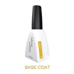 Image 2 - Azure belleza capa superior para base uñas Gel UV tiempo Base duradera base uñas abrigo remojo Base para uñas Semi permanente Led de la capa superior