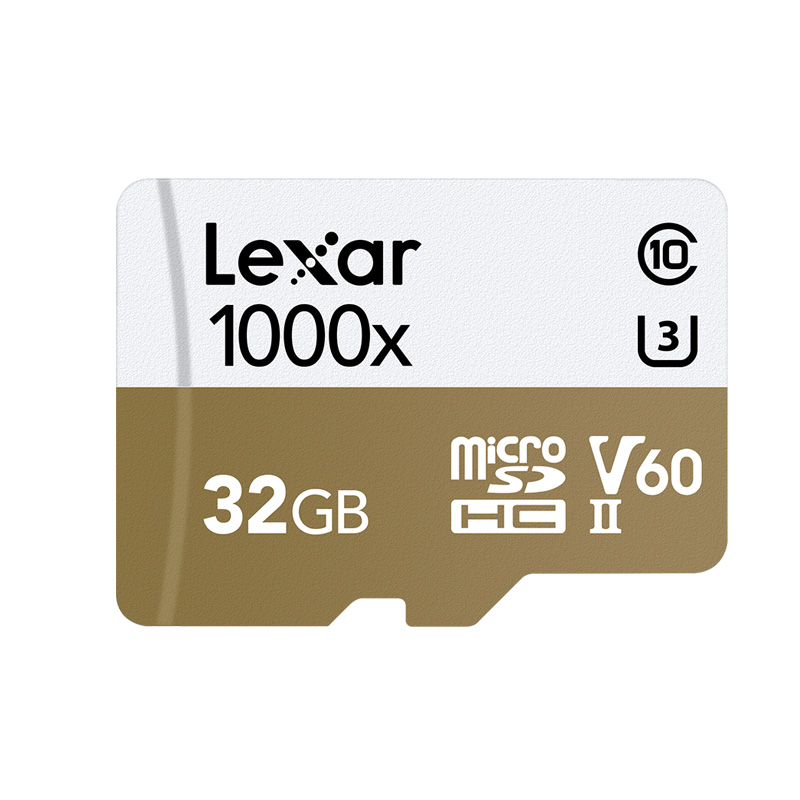 Image 2 - Lexar Micro SD card Professional 1000x 150MB/s 32GB Class 10 64GB 128GB TF Flash Memory Card Reader for Drone Sport Camcorder-in Micro SD Cards from Computer & Office